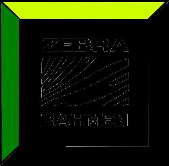 Zebra Rahmen